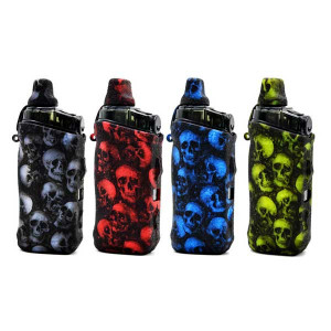 Silicone Case Skull Head Protective Cover Shield Wrap Sleeve Skin for aegis boost pod kit