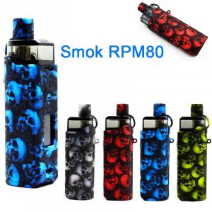 Protective Skull Head Silicone case for Smok Rpm80 Pod Kit