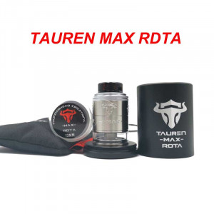 Authentic ThunderHead Creations THC Tauren Max RDTA 25mm Rebuildable Dripping Tank Vape Atomzier