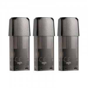Authentic Teslacigs Punk Pod Vape Kit Replacement Cartridge w/ 1.4ohm Cotton Coil 1.2ml 3 PCS/Pack