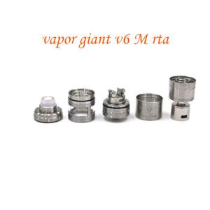 Mojia 316 stainless steel vapor giant v6 M rta v6s 25mm - Black, Silver
