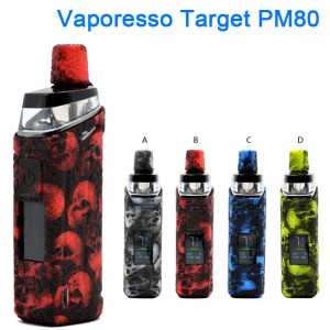 Protective Skull Head Silicone case for Vaporesso Target PM80 Vape pod Kit