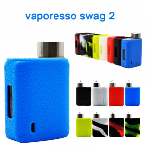 Protective Silicone case cover Skin decal wrap for Vaporesso Swag 2 80W TC Kit