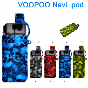 Protective Skull Head Silicone case for VOOPOO Navi pod kit