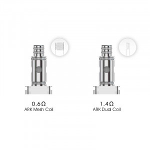 Authentic VOZOL Ark Pod System Vape Kit / Cartridge Replacement DL Mesh Coil Head 5PCS/Pack