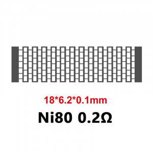 Zeus X Mesh NI80 0.2ohm A1 0.17ohm KA1 0.17ohm Mesh Coil PreBuilt Coil for Zeus X Mesh Tank
